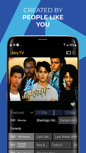 Airy - Stream Free TV Shows & Movies, and More! 2.4.0gcR screenshots 5