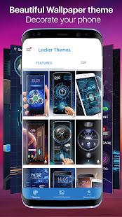 fingerprint style lock screen for prank - náhled