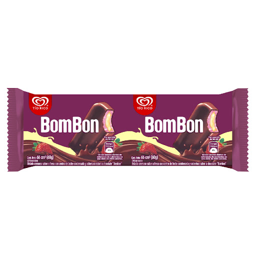 helado tio rico bom bon paleta 66ml