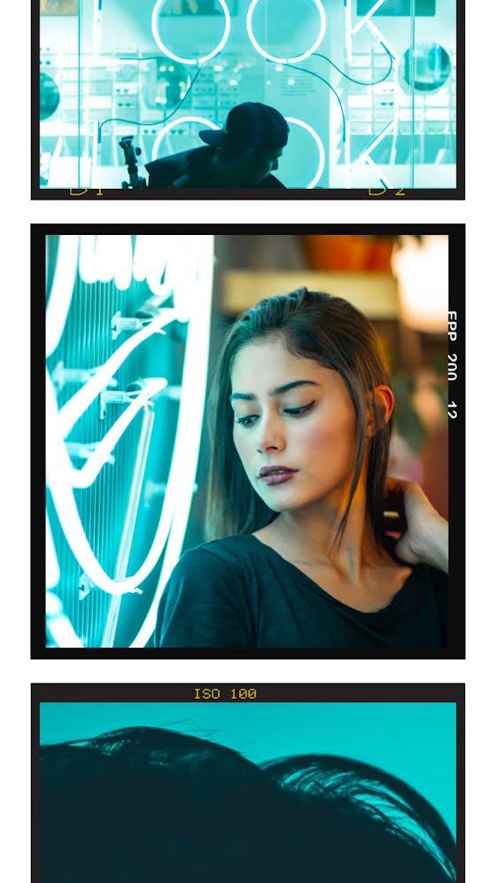 Triple Look Frame - Facebook Story Template