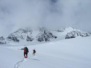 Photo: Na lodowcu - w drodze do schronu Erzherzog-Johann-Hutte
