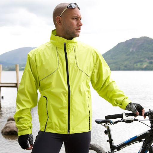 High Visibility Waterproof Cycle Jacket