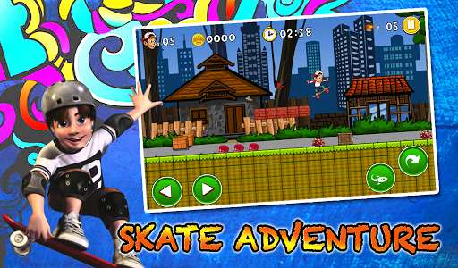 Mike Skate Adventure screenshot 0