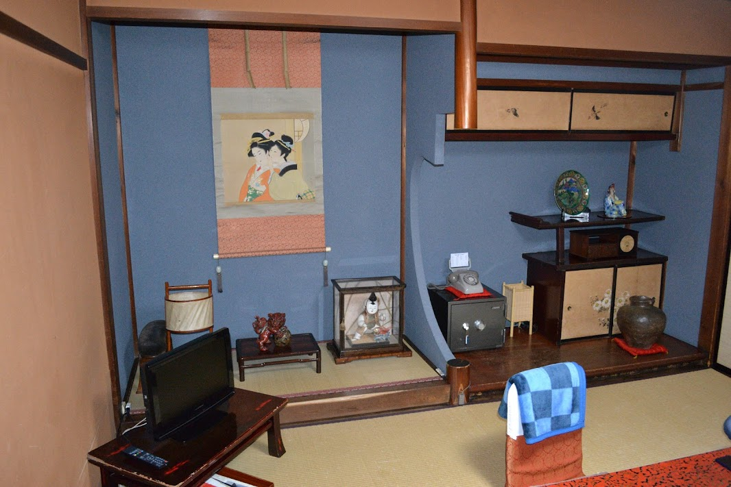 Room inside Sumiyoshi Ryokan