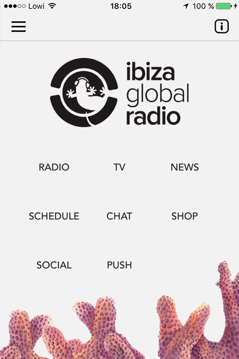 Ibiza Global Radio & TV- screenshot