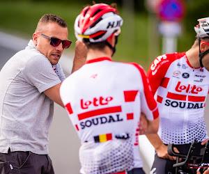 Lotto Soudal schorst Kevin De Weert tijdens de Vuelta