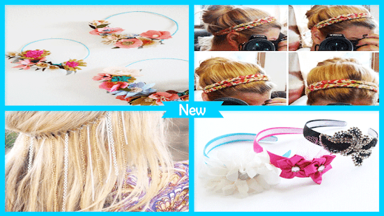 DIY Headband Accessories - náhled