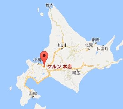 地図:ケルン本店
