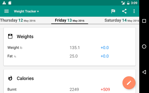 Weight Loss Tracker + screenshot 13