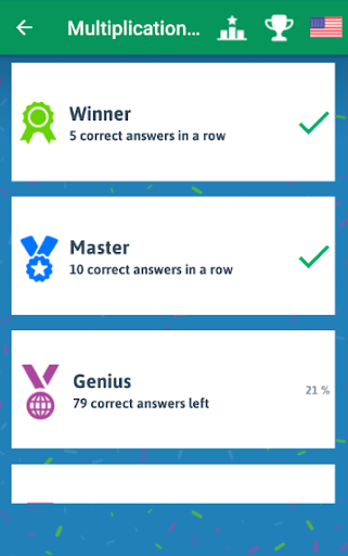 Multiplication Tables - Free Math Game android2mod screenshots 6