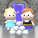 Ice Princess Elsia and Annia : Hide and Seek icon
