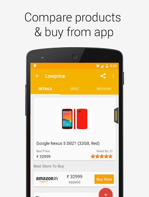 Lowprice Price Comparison - screenshot