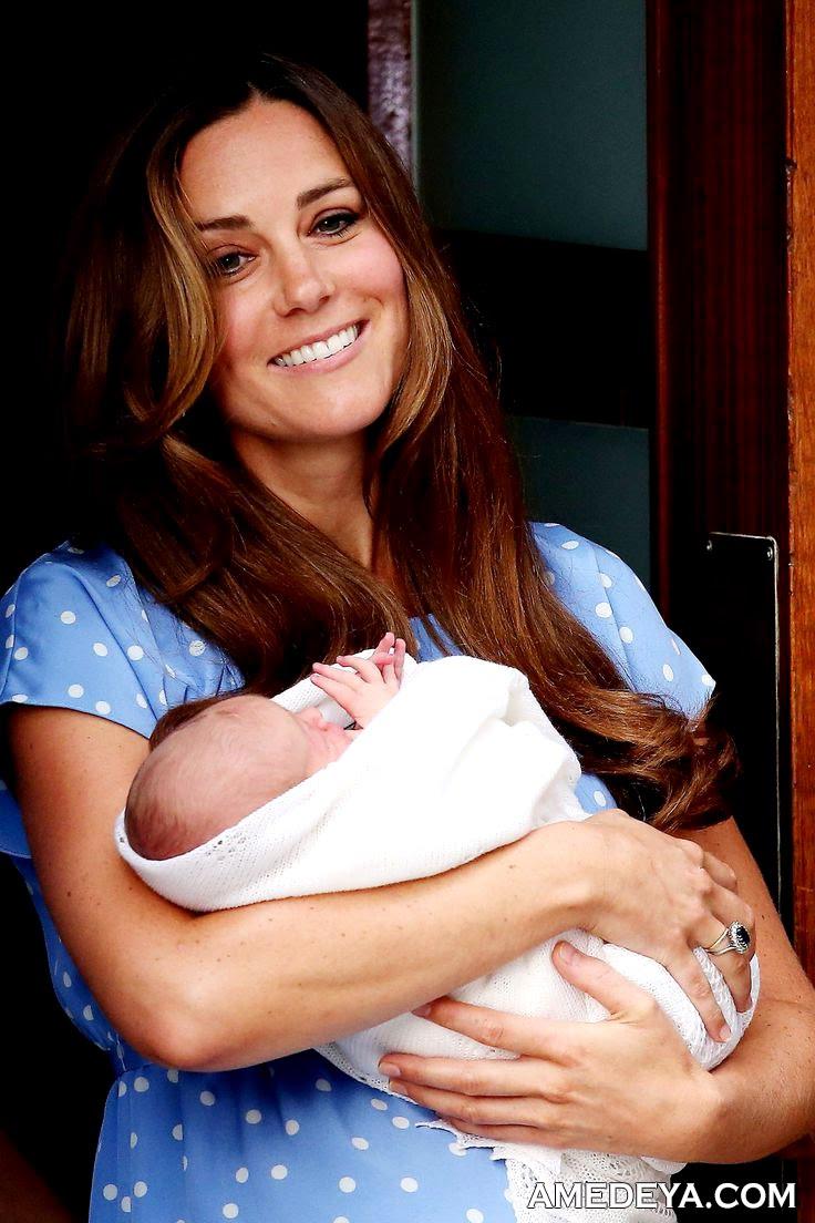 Кэтрин Миддлтон с ребенком