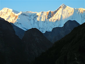 Photo: Looking out at Annapurna II from Meta