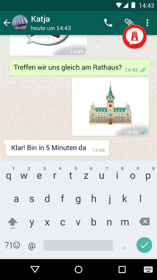 Hamburg Emojis- screenshot