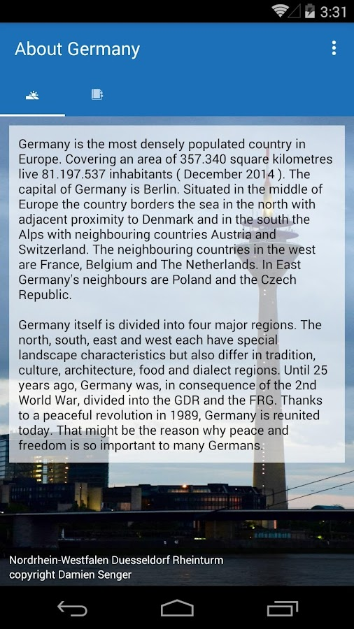 Welcome App Germany- screenshot