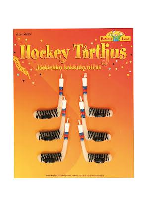 Tårtljus, hockeyklubba