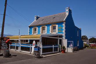 Photo: BRETANYA 2013. Ruta cap a la Punta de Raz ( Beg ar Raz en bretó ). Dinar al Restaurant-Crêperie Le Raz de Sein.
