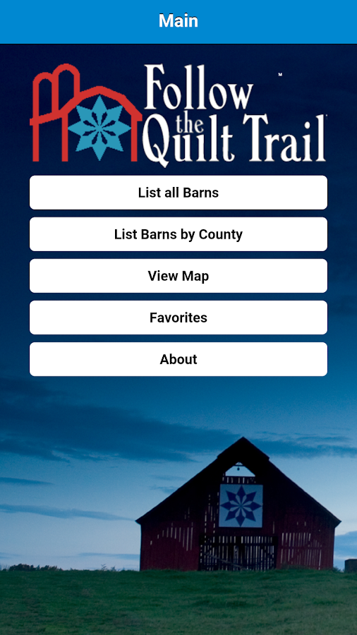 Follow the Quilt Trail- screenshot