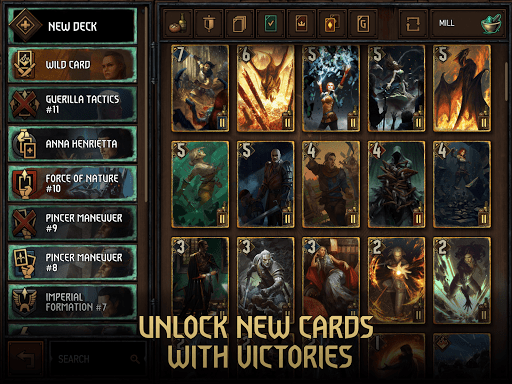GWENT: The Witcher Card Game Varies with device screenshots 19