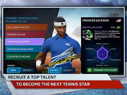Tennis Manager 2019 MOD Apk 1.15.4356 (Unlimited Money) 8