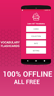 Learn ACT Vocabulary Cards - náhled