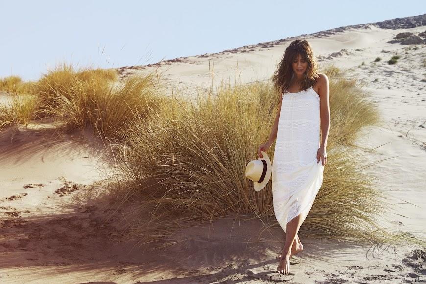 Isabel Jiménez en una de las imágenes del catálogo de Slow Love.