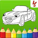 Cars coloring book for kids 1.0.16 Apk