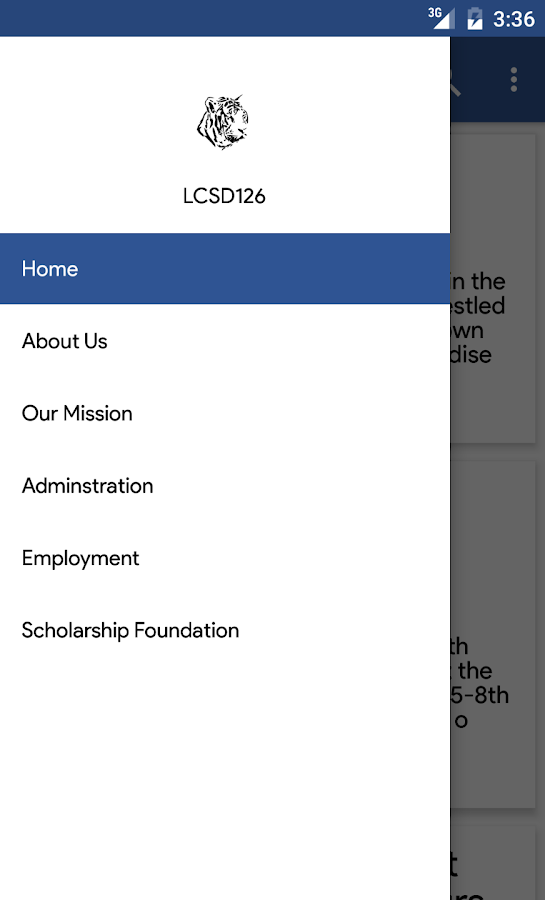 LaCrosse School District 126- screenshot