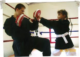 """Photo: www.calasanz.com www.interdojo.com www.theperfectfit.com  Electronic Entry To The Dojo • Due to varying work schedules and personal commitments, many of our members have expressed an interest in having access to the school during various """"off-peak"""" hours so they can train or just stretch meditate in a quiet, restful environment. Not only is this a great workout opportunity, but a convenient """"get away"""" if you just want to train and de-stress after a long day! Access to the front dojo area Monday through Friday, from 4:00AM to 9:00PM Saturday and Sunday, from 6:00AM to 5:00PM Access to the back area 7 days per week, from 4:00AM to 11:00PM.  • At any time between 9:AM – 10:00PM, you can come by with friends and family (using your entry code access card) to have a tour, visit the complimentary tea bar and bookstore, and just spend time in this beautiful, inspiring center. • Former Members can also come with a friend or family member once a month and participate in a Group Training Class. Connect with the Web-Based Calasanz Community • Receive up-to-the-minute news on coming events, seminars, promotions, group gatherings and festivities via email, text messaging, RSS feeds and social media posts. • Connect with the Calazanz Member Community on Facebook & Twitter. • Access hundreds of unique training videos with a 50% discount to a subscription to the Interdojo.com The Calasanz Patron Pass is valid for one year from the date of purchase. You can pay for the service with a monthly payment of $8.33 with an initial $20.00 activation fee or prepay the year membership up front for $95.00. This product and membership is separate from any current or existing Calasanz membership and is non-transferable and non-refundable.  http://www.youtube.com/watch?v=psSi_GPHBRg&feature=related At Calasanz with Martha: Boxing Basics http://www.youtube.com/watch?v=SXPaLfeSEXg&feature=relmfu At Calasanz: Martha kicks and counter attacks http://www.youtube.com/watch?v=CcNHlNxmHfQ&feature=r"""
