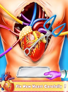 Open Heart Surgery: Er Emergency Doctor Games- screenshot thumbnail