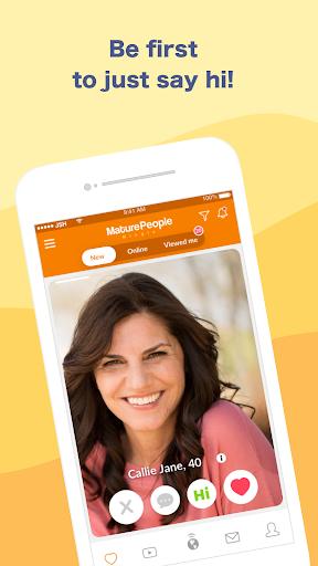 Mature People Mingle- Dating App For Older Singles