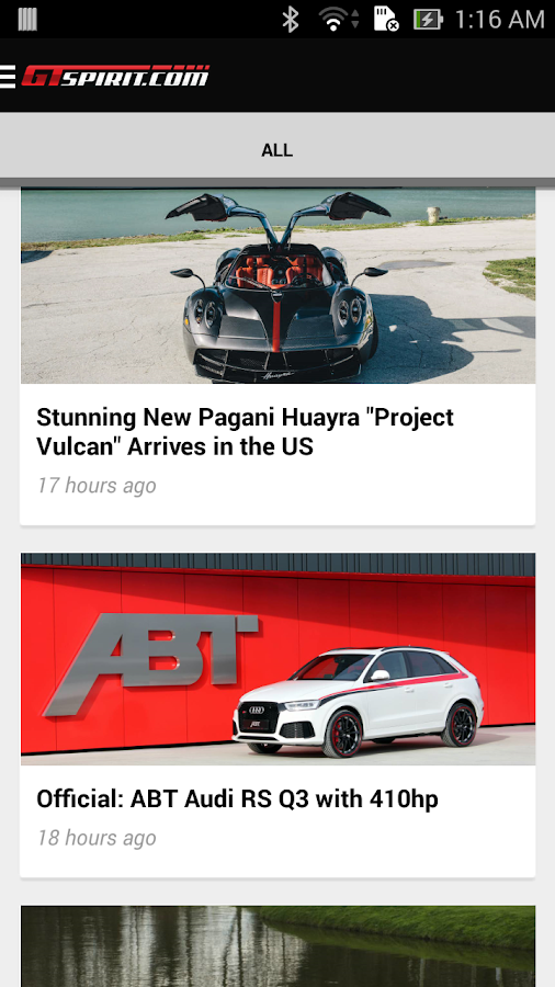 GTspirit - Cars & Luxury News- screenshot