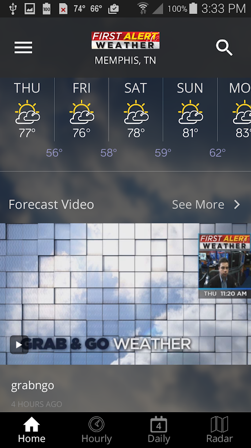 Action News 5 Memphis Weather- screenshot