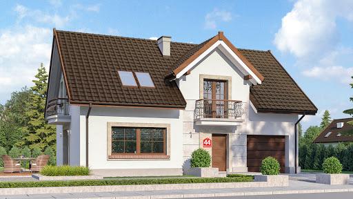 projekt Dom przy Alabastrowej 44