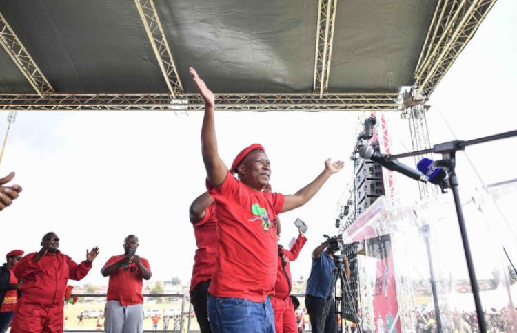 Malema was in firebrand mode on Wednesday during his speech in Ermelo in Mpumalanga on Human Rights Day.