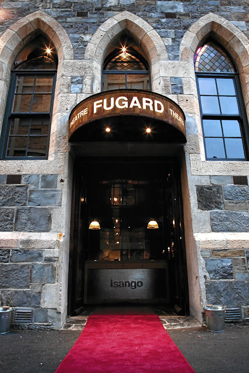 The entrance to the Fugard Theatre in Cape Town.