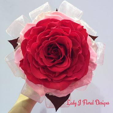 💐❤️三色巨型玫瑰花球❤️💐