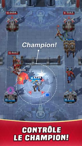 Télécharger Champion Strike: Clash des Héros Arène de Bataille APK MOD (Astuce) screenshots 2