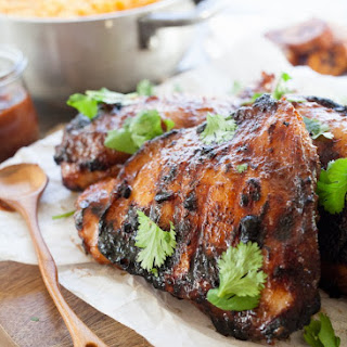 Guava BBQ Chicken Thighs