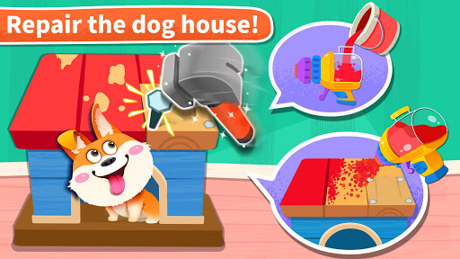 Baby Panda' s House Cleaning  screenshots 2