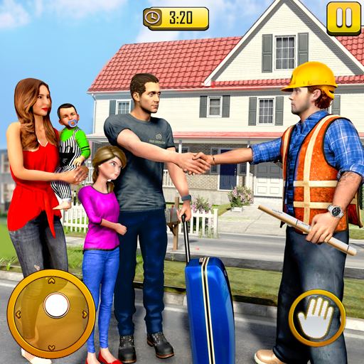 new-family-house-builder-happy-family-simulator