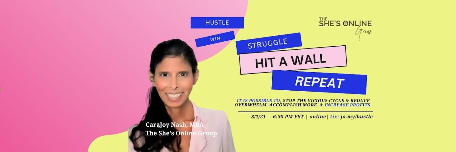 Hustle. Win. Struggle. Hit A Wall. Repeat.