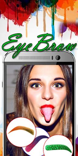 Eyebrow Shaping App - Beauty Makeup Photo 6.1 screenshots 17