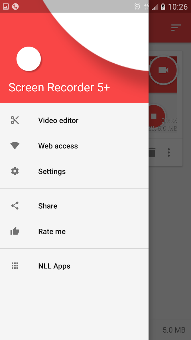 Screen Recorder Android 1