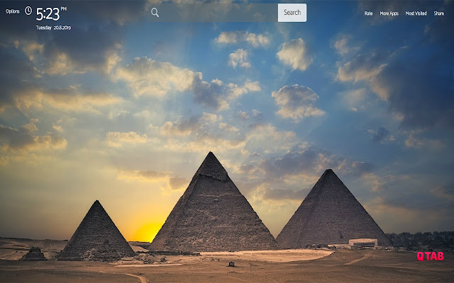 World Heritage Wallpapers Theme |GreaTab