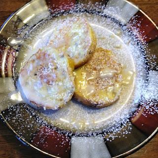 Cinnamon Roll French Toast.