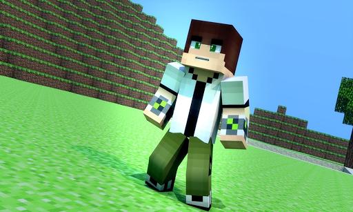 Skin Ben 10 For Minecraft PE 2.1.3 screenshots 1