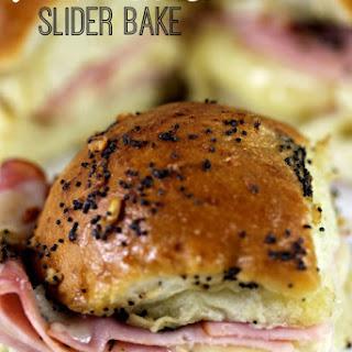 Ham & Cheese Slider Bake