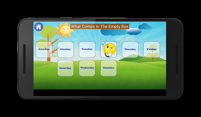 Days, Months & Seasons -  Kids Learning App - screenshot